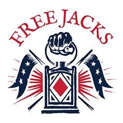 Free jacks rugby logo
