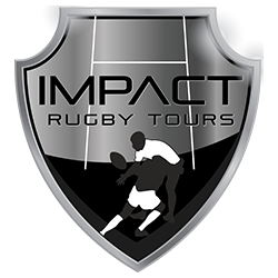 Impact Rugby Tours rugby logo