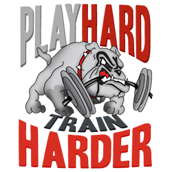 Playhard rugby logo