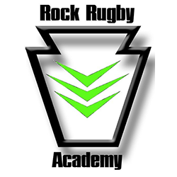 rock rugby academy rugby logo