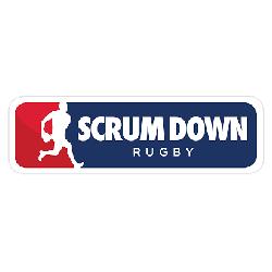 Scrumdown rugby logo