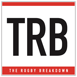 The Rugby Breakdown logo